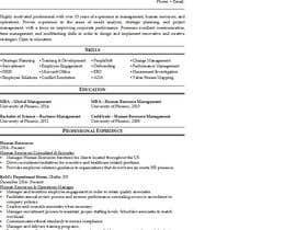 Nro 3 kilpailuun Easy to use - Word template for Resume käyttäjältä kimkozlik0