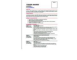 Nro 8 kilpailuun Easy to use - Word template for Resume käyttäjältä Bijoy900