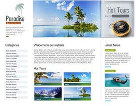 nº 7 pour Design a Website for Travel Consultant par eeemizan