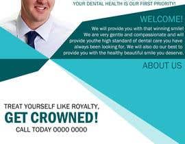 Nro 10 kilpailuun Design a Dental Flyer käyttäjältä freelancerdas10