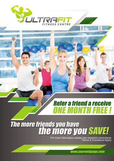 Inscrição nº 9 do Concurso para Design a Poster for Gym Program