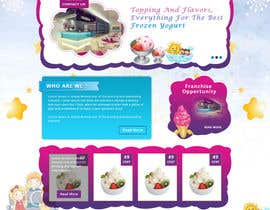 #33 for Yogurt website Home page af Patelasmi