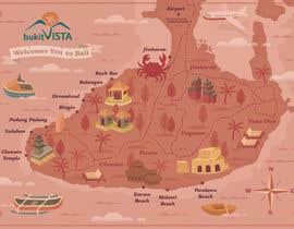 Nro 18 kilpailuun Illustrated Pirate's map of our Local Area käyttäjältä ucilmacabre