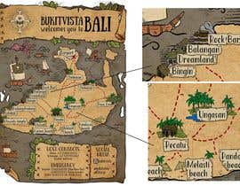 Nro 9 kilpailuun Illustrated Pirate's map of our Local Area käyttäjältä zitabanyai