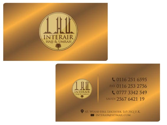 Entry 3 by thedesigna for design some business cards for interair business card reheart Gallery