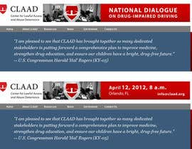 #44 untuk Banner Ad Design for Center for Lawful Access and Abuse Deterrence (CLAAD) oleh ivanbogdanov