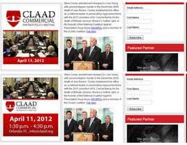 #36 untuk Banner Ad Design for Center for Lawful Access and Abuse Deterrence (CLAAD) oleh ivanbogdanov