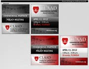 Graphic Design Inscrição do Concurso Nº60 para Banner Ad Design for Center for Lawful Access and Abuse Deterrence (CLAAD)