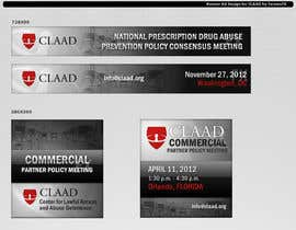 nº 30 pour Banner Ad Design for Center for Lawful Access and Abuse Deterrence (CLAAD) par fornaxfx