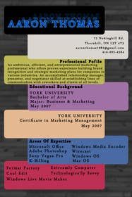 #18 cho convert my resume to an eye catching graphic resume bởi akritidas21