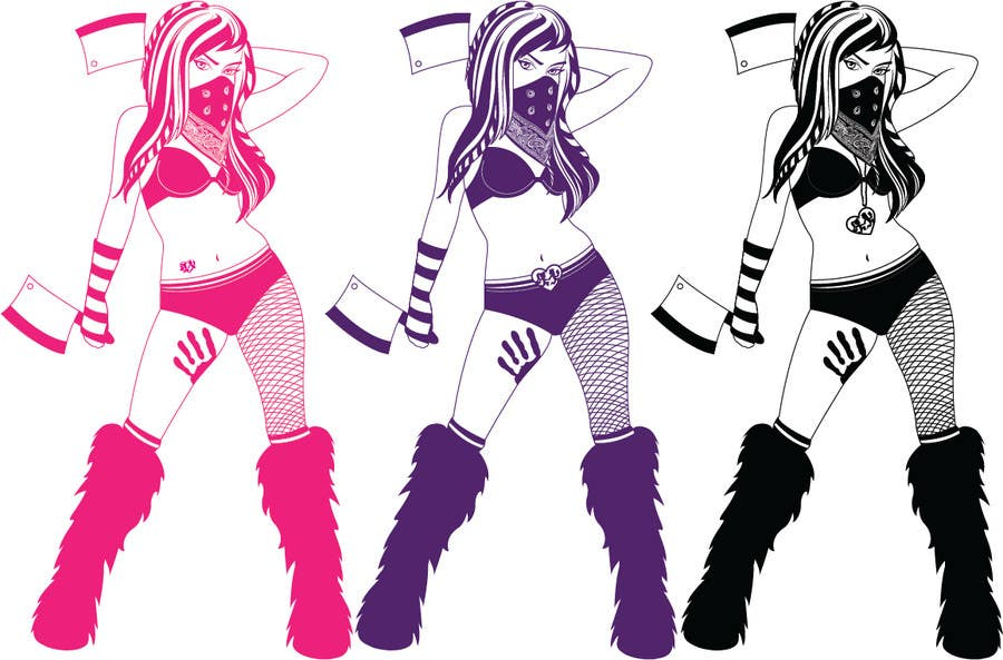 Bài tham dự cuộc thi #                                        89                                      cho                                         Graphic Design for HatchetGirls