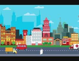 Nro 5 kilpailuun Moving Background on my Website homepage käyttäjältä ravi2rty