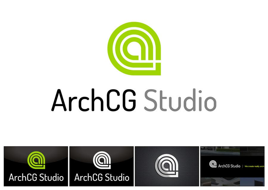 Kilpailutyö #172 kilpailussa Logo Design for ArchCG Studio