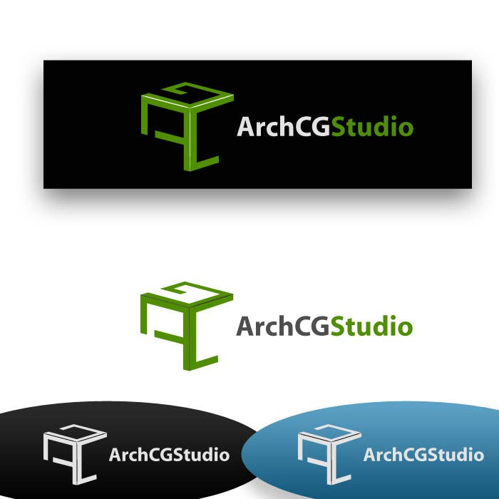 Конкурсная заявка №282 для Logo Design for ArchCG Studio