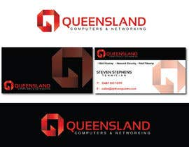 alexandracol tarafından Design a Logo for Queensland Computers & Networking için no 9