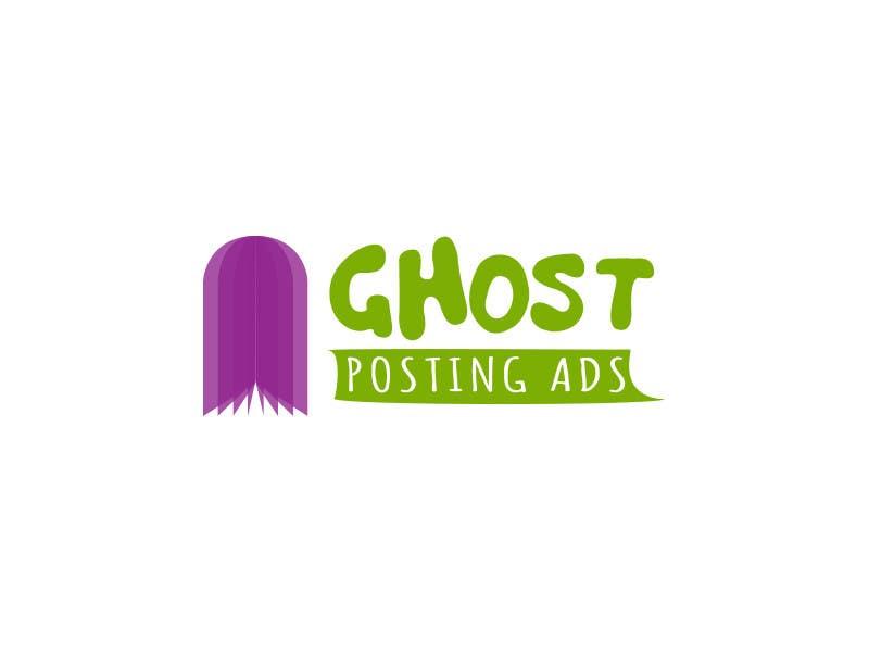 Penyertaan Peraduan #                                        21                                      untuk                                         Logo for Ghost Posting Ads