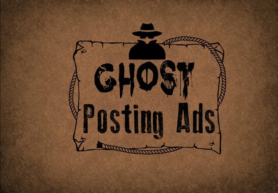 Penyertaan Peraduan #                                        18                                      untuk                                         Logo for Ghost Posting Ads