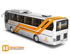 Nro 81 kilpailuun Design a unique look for our buses käyttäjältä jaiko
