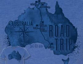 Vrendengard tarafından Draw a roadtrip map to be printed on a tshirt için no 1