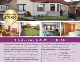 #7 para Flyer for Estate agents por Marylou2014