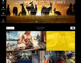 #7 for Build a Website for photographer agency af blogfor