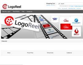 #25 for Design a landing page banner for new logo design service by basem36