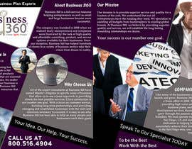 nº 8 pour Brochure Design for Business 360 LLC par creationz2011