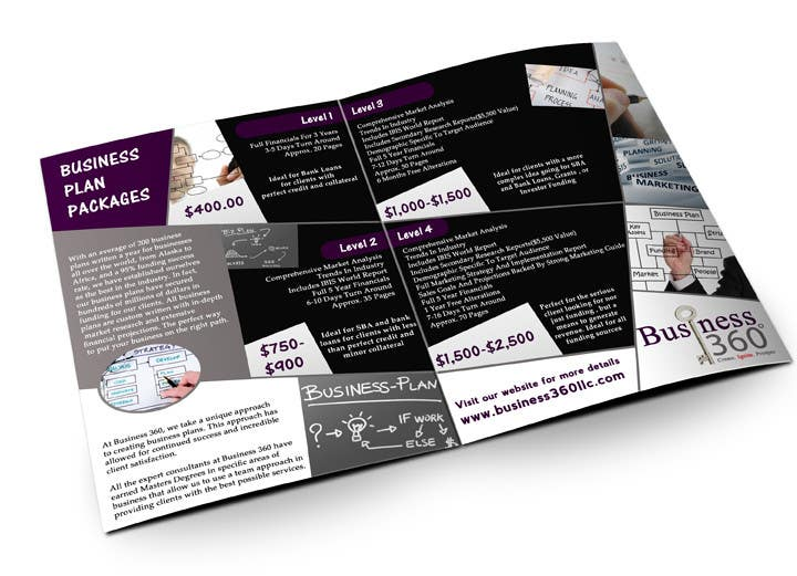 #51 for Brochure Design for Business 360 LLC by creationz2011