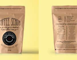 Nro 9 kilpailuun Design Packaging for a coffee body scrub  Front & Rear käyttäjältä KaterinaTah