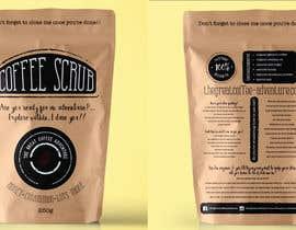 Nro 14 kilpailuun Design Packaging for a coffee body scrub  Front & Rear käyttäjältä KaterinaTah