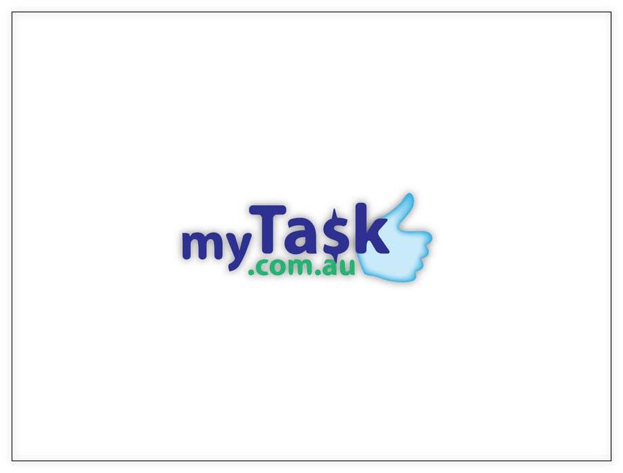 Kilpailutyö #                                        143                                      kilpailussa                                         Logo Design for myTask.com.au