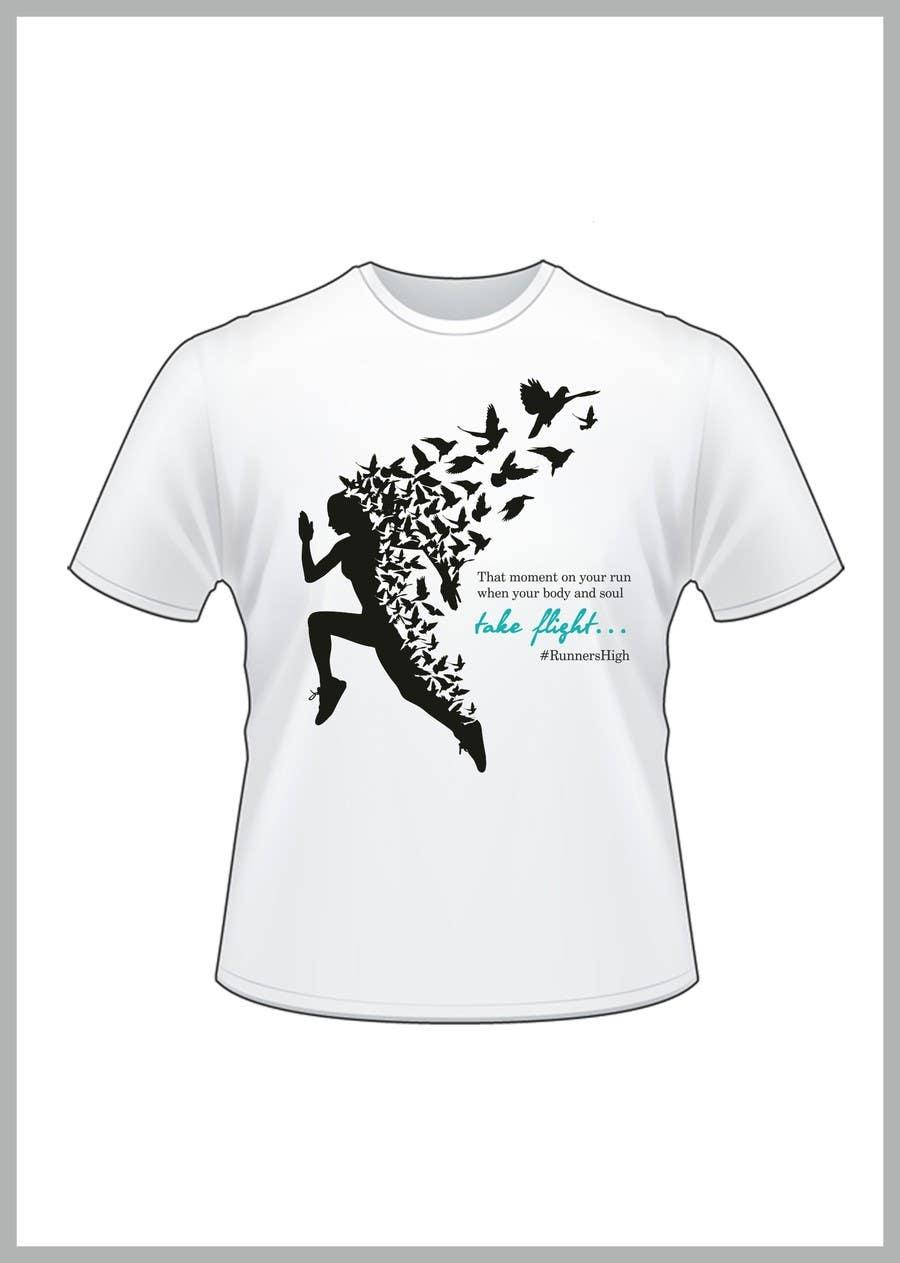 Kilpailutyö #5 kilpailussa Women's Running Shirt -- 2