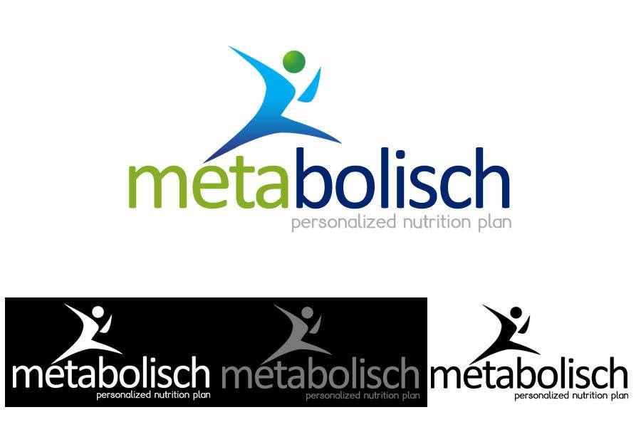 Kilpailutyö #39 kilpailussa Graphic Design for metabolisch.com its a weight loss website start up