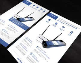 #1 for Design a Flyer for Facepoint Social Wi-Fi Router by aleksejspasibo