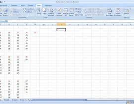 Nro 15 kilpailuun Build a dashboard in excel that will let me enter daily sales numbers and display through out office. käyttäjältä im040314