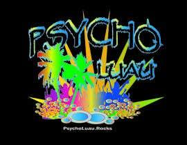 Nro 54 kilpailuun Psycho Luau logo design käyttäjältä vesnarankovic63