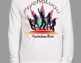 Nro 12 kilpailuun Psycho Luau logo design käyttäjältä harrymasoomi