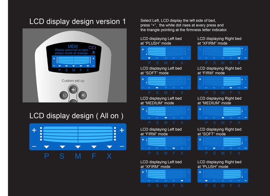 #16 for I need some Graphic Design to improve my current LCD display design for a remote control by davidliyung