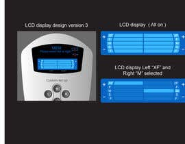 davidliyung tarafından I need some Graphic Design to improve my current LCD display design for a remote control için no 18
