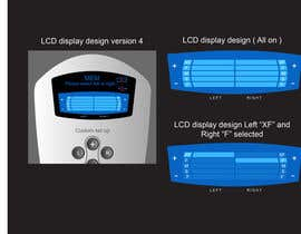 #19 untuk I need some Graphic Design to improve my current LCD display design for a remote control oleh davidliyung