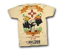 Nro 85 kilpailuun Design a T-Shirt - ANYTIME FITNESS CARLSBAD, NM käyttäjältä Feladio