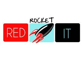 #302 för Logo Design for red rocket IT av taliss