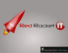 #34 dla Logo Design for red rocket IT przez maveric1