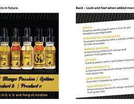 #15 for Design flyer for eJuice company af samazran