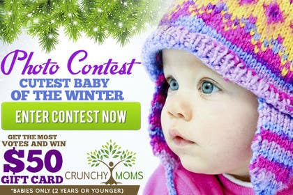 #6 for Design a Banner for Cutest Baby Contest by mayerdesigns