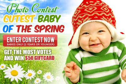 #19 for Design a Banner for Cutest Baby Contest by mayerdesigns