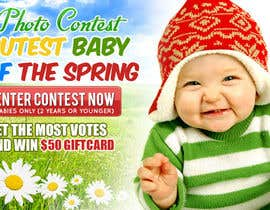 #19 for Design a Banner for Cutest Baby Contest af mayerdesigns