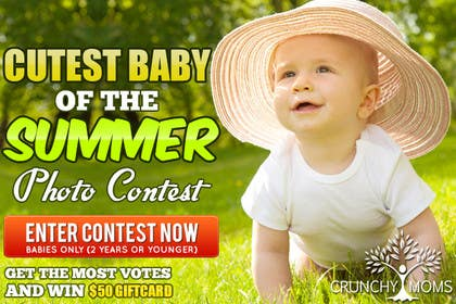 #23 for Design a Banner for Cutest Baby Contest by mayerdesigns