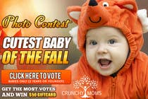Entry # 25 for Design a Banner for Cutest Baby Contest by