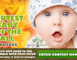 #3 untuk Design a Banner for Cutest Baby Contest oleh igority
